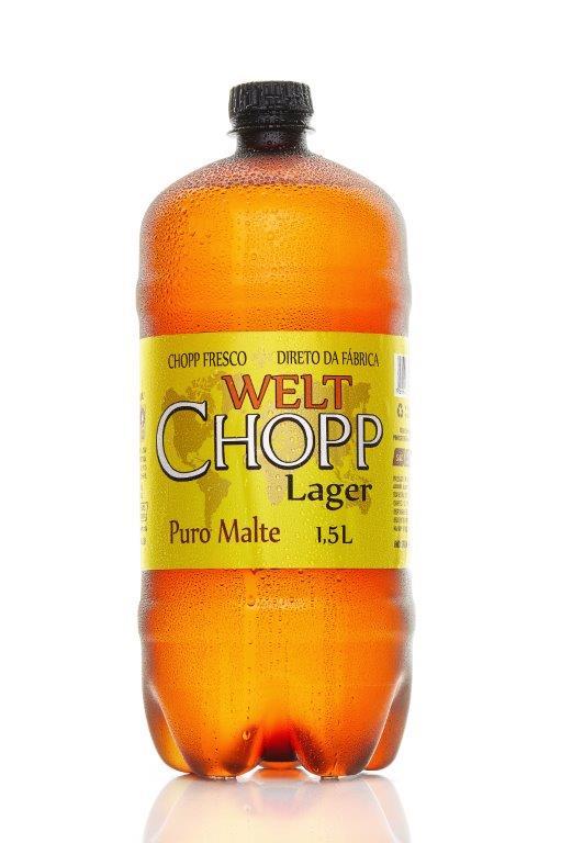Nova embalagem Chopp Welt Puro Malte